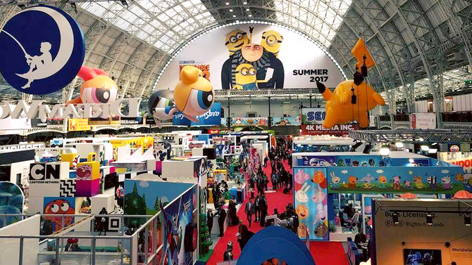 Tiny Lab Kids visit in Brand Licensing Europe Expo
