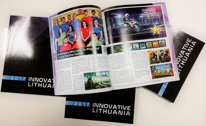 "We are featured on ""Innovative Lithuania 2017"""