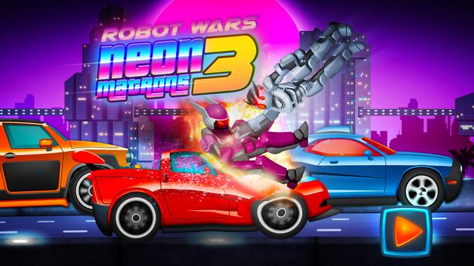 Neonmatron Robot Wars: Top Speed Street Racing