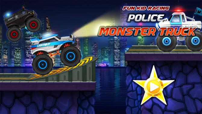 Monster Truck Police Racing