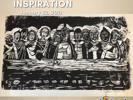 Daily Inspiration - January 22: The Last Supper