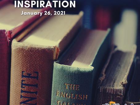 Daily Inspiration - January 26