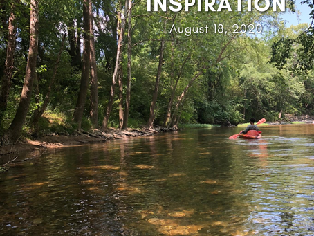 Daily Inspiration - August 18: Peace Like A River