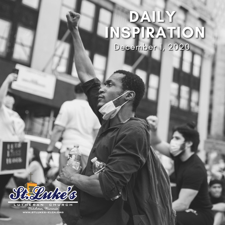 Daily Inspiration - December 1: Hope Gracing our Nation