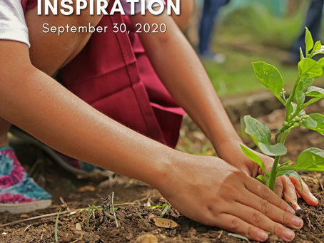 Daily Inspiration - September 28