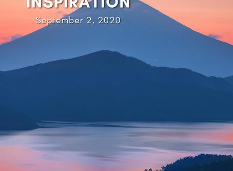 Daily Inspiration - September 2