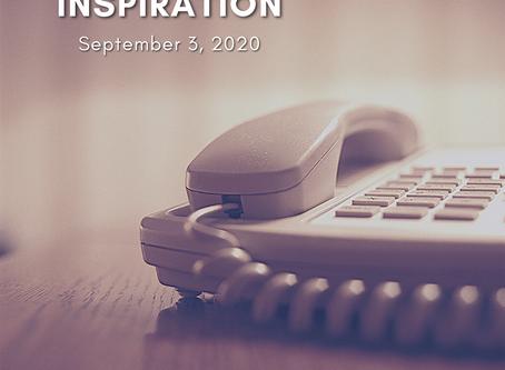 Daily Inspiration - September 3