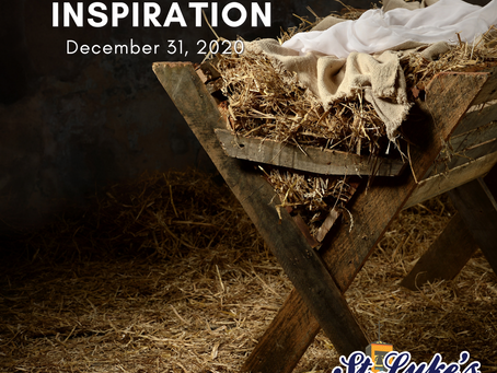 Daily Inspiration - December 31: Name of Life, Name of Jesus
