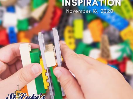 Daily Inspiration - November 18