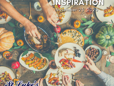 Daily Inspiration - November 23