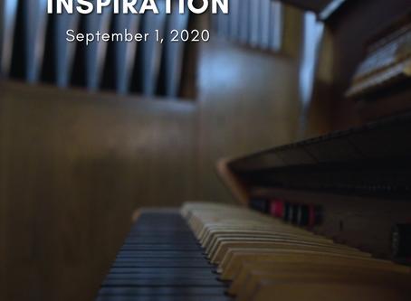 Daily Inspiration - September 1