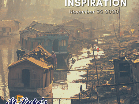 Daily Inspiration - November 30: Hope gracing our World