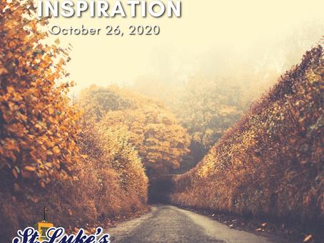 Daily Inspiration - October 26: Pardoning Pardons