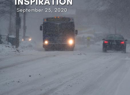 Daily Inspiration - September 25