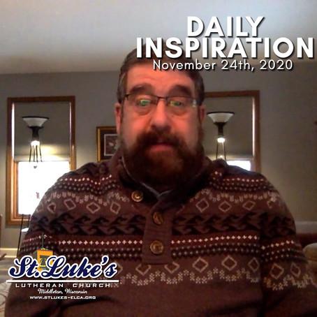 Daily Inspiration - November 24
