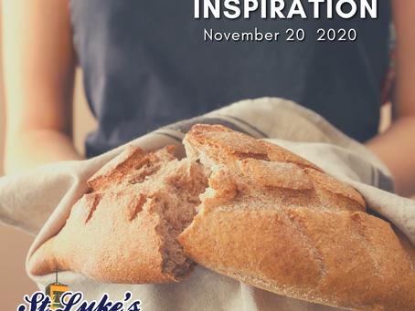 Daily Inspiration - November 20