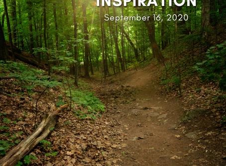 Daily Inspiration - September 16
