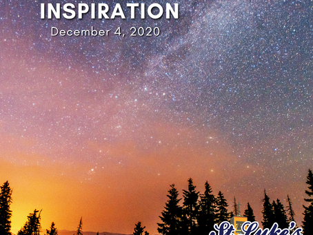 """Daily Inspiration - December 4: Hope gracing our """"Forever Life"""""""