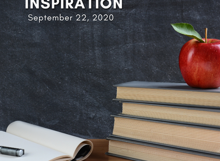 Daily Inspiration - September 22: Learning from the Ultimate Teacher
