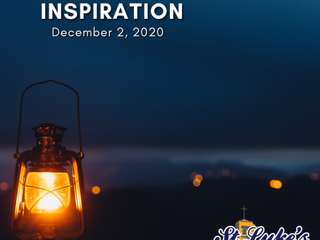 Daily Inspiration - December 2:  Hope gracing our Personal Life