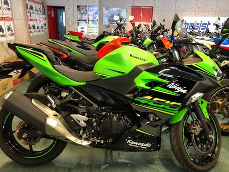 特選車両Ninja400 2019年モデル