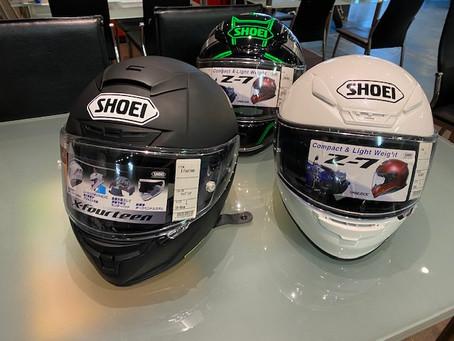 終了間近! 期間限定SHOEIヘルメット10%OFF