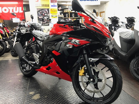 GSX-R125 ABS New color 入荷しました!