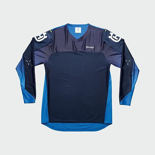 RAILED SHIRT BLUE