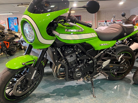 Z900RSカフェ 3万円分オプションプレゼント!
