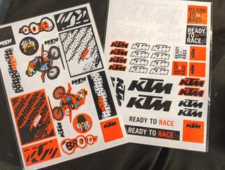 KTMステッカー 新デザイン登場!
