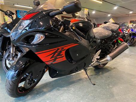 新車 GSX1300R隼Motomap正規車両のご案内♪