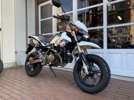 AT免許で乗れるMTバイク! KSR110 セル付きモデル!