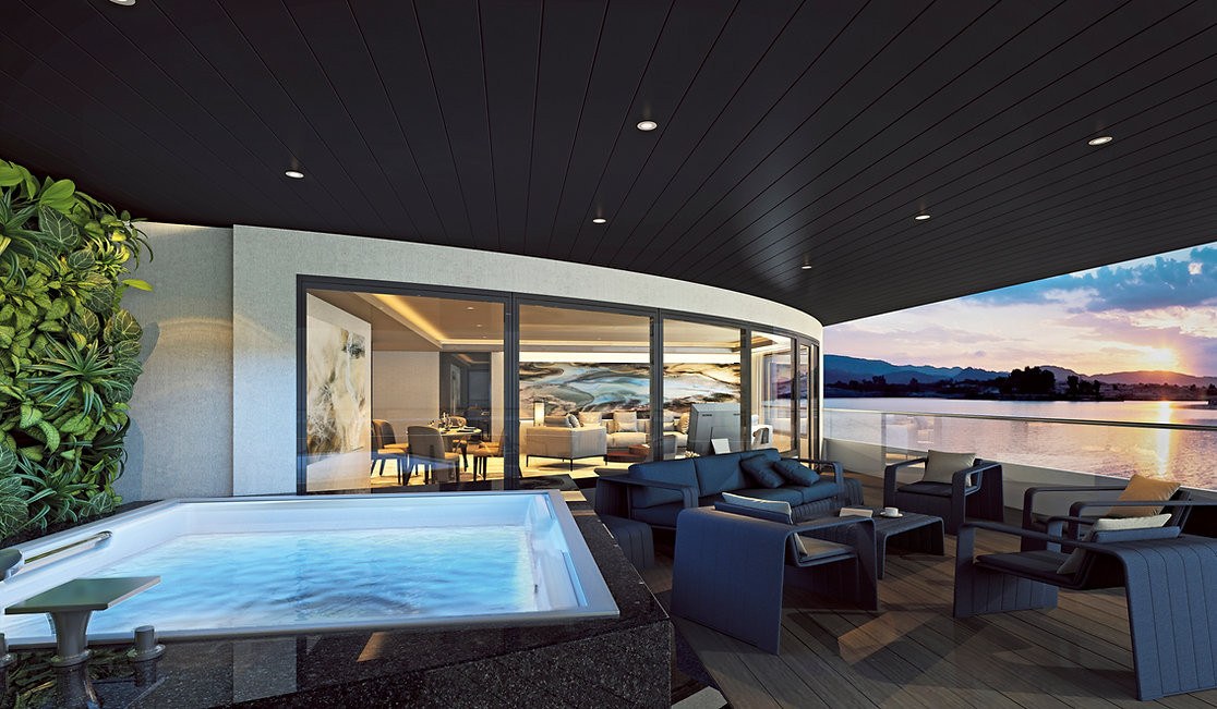 Scenic Eclipse - Owner's Penthouse Exter