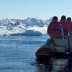 Eclipse Antarctica Zodiac Excursion 2018