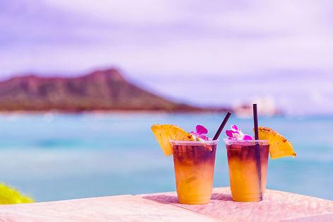 20. Hawaii mai tai drinks on waikiki bea