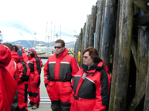 Alaska Zodiac RHIB whale and eagle watch