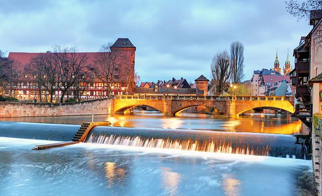 Nuremberg, Germany at Bridge..jpg