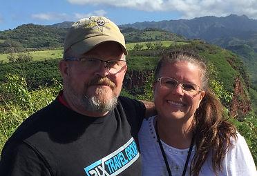 Mason and Melissa Waimea Canyon Kauai.jp