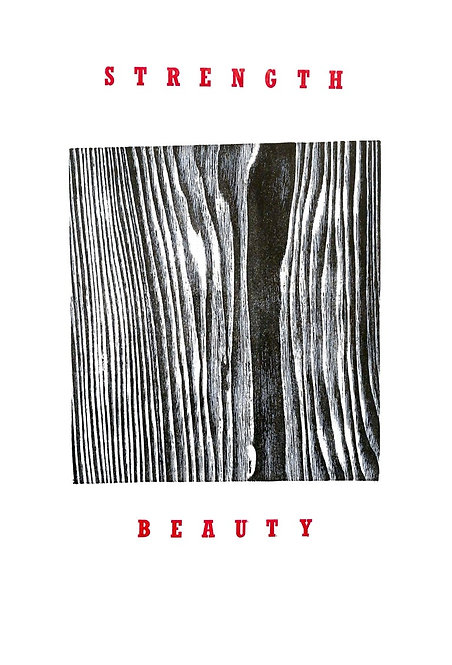 Ash Print - Strength & Beauty