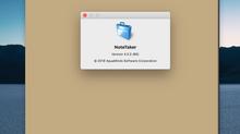 NoteTaker 4 Update