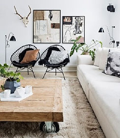 Scandavian style interiors