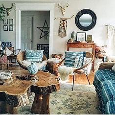 Bohemian interiors