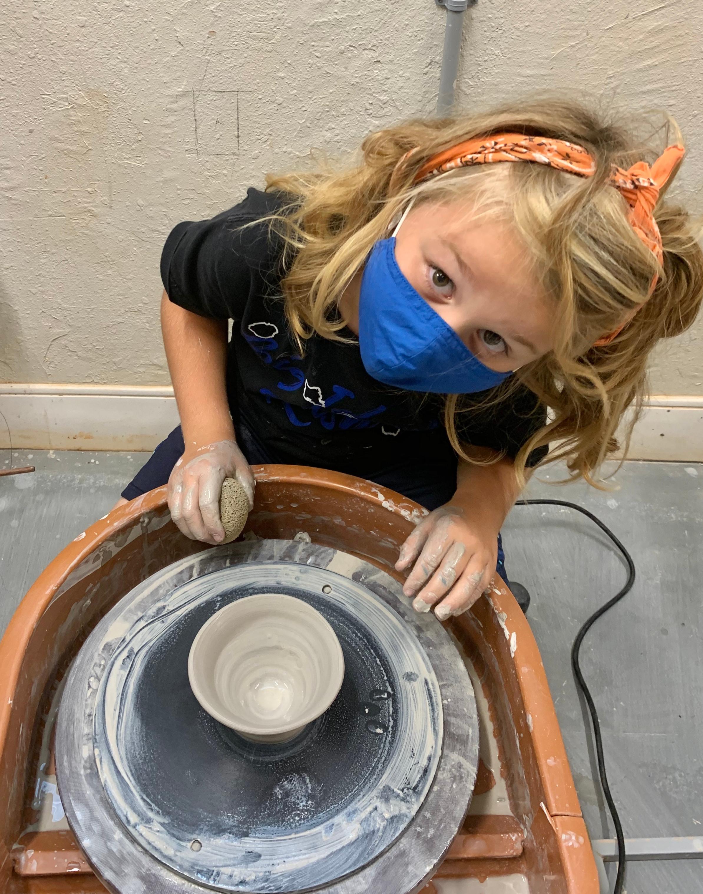 Keiki Pottery Class