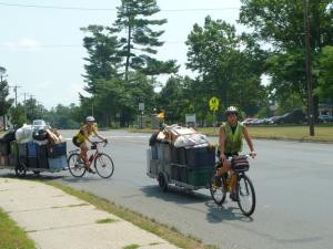 Bike-powered waste management in Massachusetts!