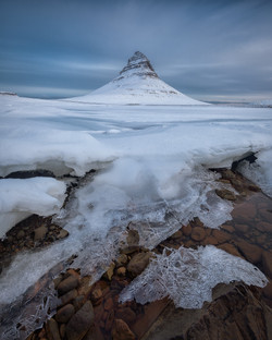 Winter at Kirkjufell