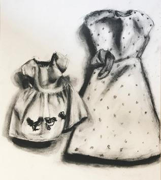 Birds & Polka Dot Dresses