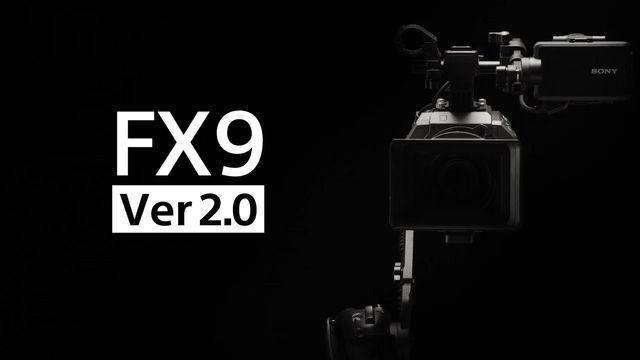 Telecamera Sony FX9