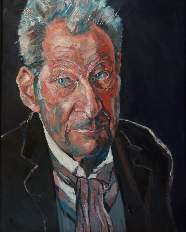 Lucien Freund, Huile sur bois, 2017, 130