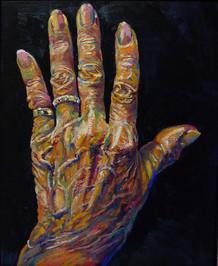 Les mains d'I, gauche