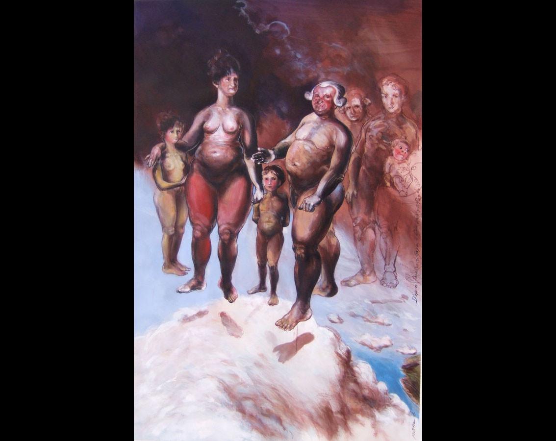 D'après Goya, Charles IV et sa famille